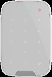 alarme chic et design - clavier blanc