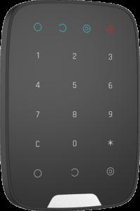 alarme chic et design - clavier noir